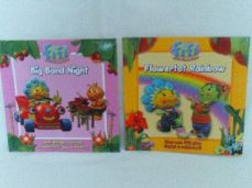 Adorable Set 2 of Two 'Fifi & the Flowertots' Glossy Bedtime Story Books
